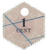 Holland 1879 - NVPH TG 1 - Stemplet
