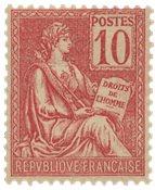 France 1900/1901 - YT 116 - Neuf avec charnières