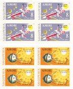 Albanien 1964 - Michel 857/858 - Postfrisk