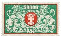 Allemagne / Danzig 1923 - Michel 149F - Neuf