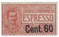 Italien 1922 - Sassone 6 - Postfrisk