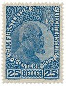 Liechtenstein 1912 - Michel 3x - Postfrisk