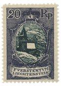 Liechtenstein 1921 - Michel 53 - Ubrugt