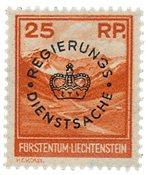 Liechtenstein 1933 - Michel D9 - Neuf