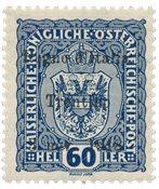 Italien 1918 - Sassone 12 - Postfrisk