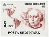 Albanien 1992 - Michel Blok 97 - Postfrisk