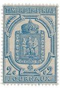 France 1868 - YT TJ 8 - Neuf