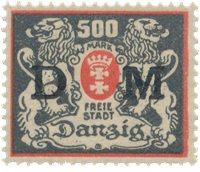 Danzig 1923 - MICHEL 39F - Mint