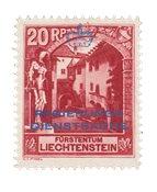 Liechtenstein 1932 - Michel D3A - Ubrugt