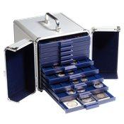 Aluminium coin case CARGO S 10 for 10 coin boxes SMART