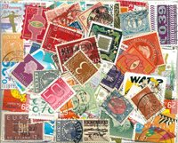 Pays-Bas - 290 timbres obl. différents