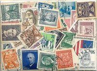 Tchécoslovaquie - 215 timbres obl. différents