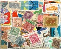 Cuba - 325 timbres obl. différents