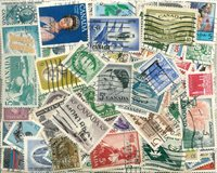 Canada - 355 different cancelled stamps