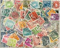 Danemark - 270 timbres obl. différents