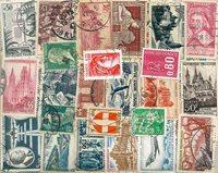 Francia - 320 sellos diferentes cancelados