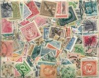 Autriche - 500 timbres obl. différents