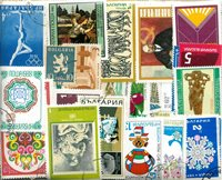 Bulgarie - 520 timbres obl. différents