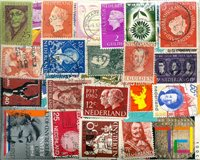 Pays-Bas - 555 timbres obl. différents