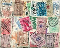 Belgique - 560 timbres obl. différents