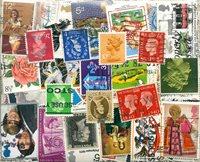Grande-Bretagne - 500 timbres obl. différents