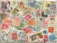 Tchécoslovaquie - 900 timbres obl. différents