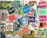 Grande-Bretagne - 430 timbres obl. différents