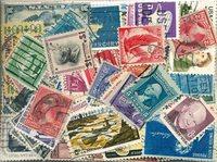 Etats-Unis - 260 timbres obl. différents