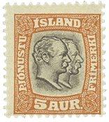 Jsland 1907 - AFA 26 Tjenenste - Postfris