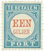 Holland 1881/1887 - NVPH P12 - Ubrugt