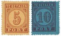 Pays-Bas 1870 - NVPH P1/P2 - Neuf avec charnières