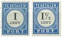 Holland 1894/1895 - NVPH P14a/P15a - Postfrisk