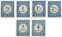 Holland 1894/1910 - NVPH P13/P18 - Postfrisk