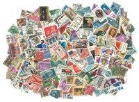 Etats-Unis - 960 timbres obl. différents