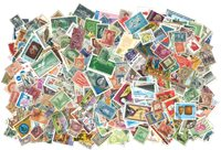 Monde Entier - 3500 timbres obl. différents