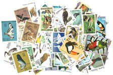 Oiseaux - 250 timbres diff.