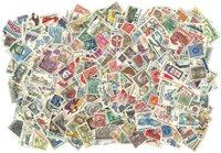 Cecoslovacchia - 1450 francobolli differenti usati