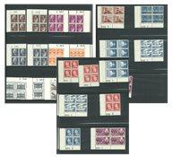 Danmark - Samling marginalblokke L-003-367 postfriske