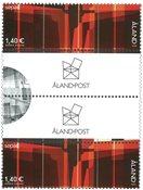 Åland - SEPAC Kunst - Gutterpair postfrisk