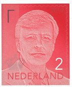 Netherlands - Definitive Willem 2 red 2019 - Mint stamp