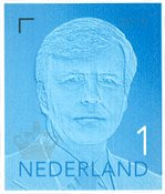 Netherlands - Definitive Willem blue 2019 - Mint stamp