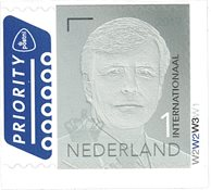 Netherlands - Definitive Willem 1 grey 2019 - Mint stamp