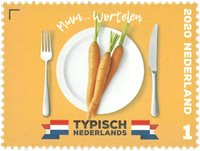 Netherlands - Carrots - Mint stamp