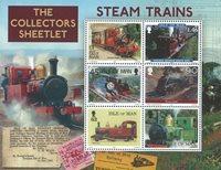 Isle of Man - Railways Colloctors - Mint souvenir sheet