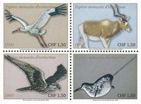 United Nations Geneva - Endangered species 2020 - Mint set 4v