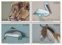 United Nations Vienna - Endangered species 2020 - Mint set 4v