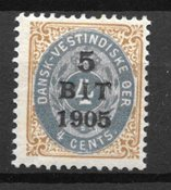 Danish West Indies - AFA 33 - Unused