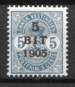 Danish West Indies - AFA 34 - Mint
