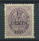 Danish West Indies 1895 - AFA 15 - Mint