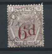 Englanti 1883 - AFA 71 - Leimattu